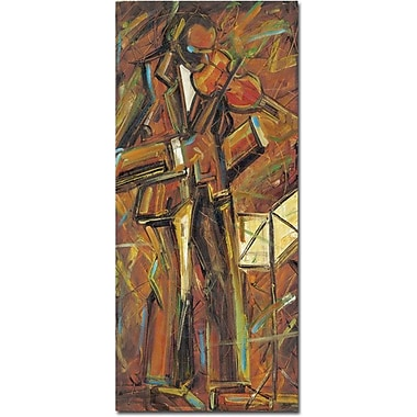 Trademark Global Daniel Gonzales in.Cancion Para Tiin. Canvas Art, 47in. x 24in.