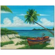 """Trademark Global Douglas """"El Morro"""" Canvas Art, 26"""" x 32"""""""
