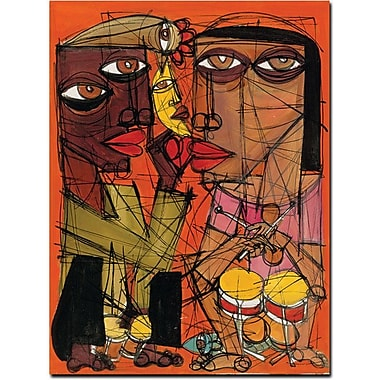 Trademark Global Dieguez in.Con el Sonin. Canvas Art, 32in. x 24in.
