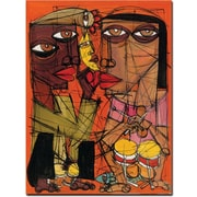 Trademark Global Dieguez Con el Son Canvas Art, 32 x 24