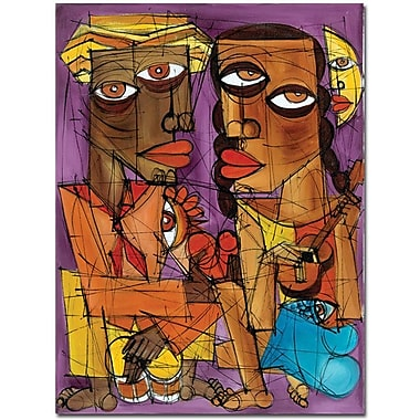 Trademark Global Dieguez in.Me Enamoroin. Canvas Art, 32in. x 24in.