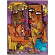 "Trademark Global Dieguez ""Me Enamoro"" Canvas Art, 32"" x 24"""