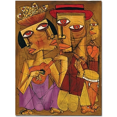 Trademark Global Dieguez in.Golden Timesin. Canvas Art, 32in. x 24in.