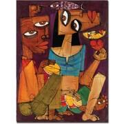 "Trademark Global Dieguez ""Una Noche en le Habana"" Canvas Art, 32"" x 24"""