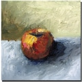 Trademark Global Michelle Calkins in.Apple Still Life with Grey and Olivein. Canvas Arts