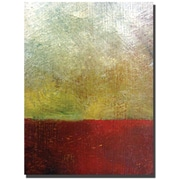 "Trademark Global Michelle Calkins ""Earth Study I"" Canvas Art, 47"" x 35"""