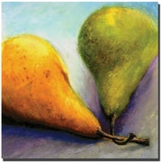 "Trademark Global Michelle Calkins ""Stems"" Canvas Art, 24"" x 24"""