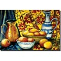 Trademark Global Michelle Calkins in.Still Life with Orangesin. Canvas Arts