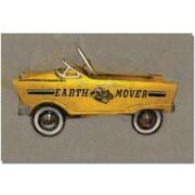"Trademark Global Michelle Calkins ""Earth Mover Pedal Car"" Canvas Art, 16"" x 24"""