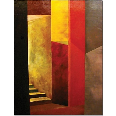 Trademark Global Michelle Calkins in.Mystery Stairwellin. Canvas Art, 24in. x 18in.