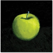 Trademark Global Michelle Calkins Green Apple Still Life Canvas Art, 18 x 18