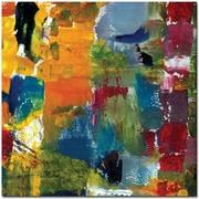 "Trademark Global Michelle Calkins ""Color Relationships I"" Canvas Art, 24"" x 24"""