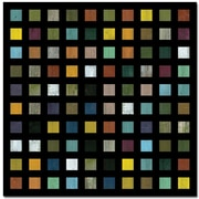 "Trademark Global Michelle Calkins ""Skyscraper""-D Canvas Art, 24"" x 24"""