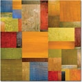 Trademark Global Michelle Calkins in.Pieces Project IIin. Canvas Art, 35in. x 35in.