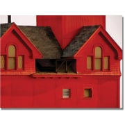 "Trademark Global Michelle Calkins ""Big Red Lighthouse"" Canvas Art, 35"" x 47"""