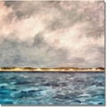 Trademark Global Michelle Calkins in.Dunes of Lake Michiganin. Canvas Art, 18in. x 18in.