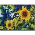 Trademark Global Michelle Calkins in.Sunflowersin. Canvas Art, 18in. x 24in.