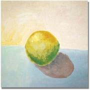 Trademark Global Michelle Calkins Yellow Lemon Still Life Canvas Art, 18 x 18