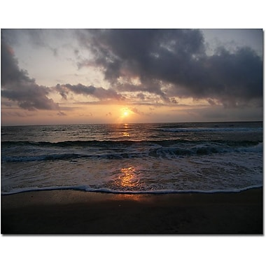 Trademark Global Monica Fleet in.Gentle Risein. Canvas Art, 18in. x 24in.