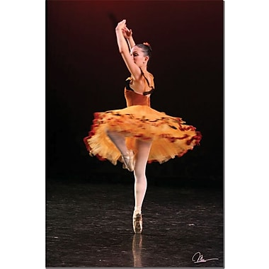 Trademark Global Martha Guerra in.Ballet IIin. Canvas Art, 24in. x 16in.