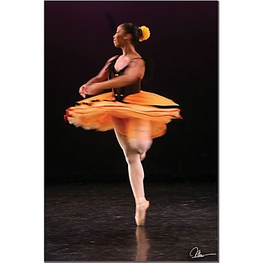 Trademark Global Martha Guerra in.Ballerinain. Canvas Art, 24in. x 16in.