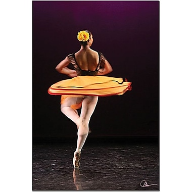 Trademark Global Martha Guerra in.Ballerina IIin. Canvas Art, 24in. x 16in.