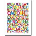Trademark Global Michael Tompsett in.States of the USin. Canvas Art, 47in. x 35in.
