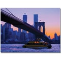 Trademark Global MCat in.NYCin. Canvas Art, 18in. x 24in.