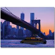 "Trademark Global MCat ""NYC"" Canvas Art, 18"" x 24"""