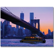 "Trademark Global MCat ""NYC"" Canvas Art, 35"" x 47"""