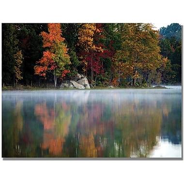 Trademark Global MCat in.Old Autumnin. Canvas Art, 35in. x 47in.