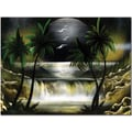 Trademark Global Conrad in.Moon Over the Waterfall IIIin. Canvas Art, 18in. x 24in.