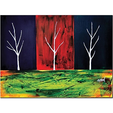 Trademark Global Nicole Dietz in.The Splitin. Canvas Art, 14in. x 19in.