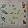 "Trademark Global Nicole Dietz ""Love Bug"" Canvas Art, 35"" x 35"""