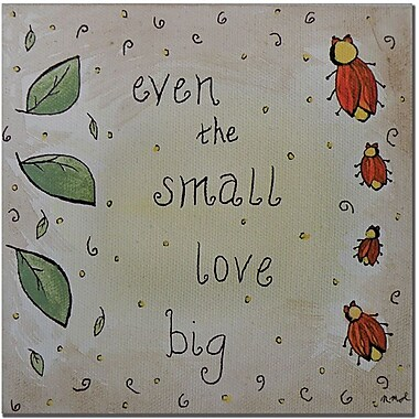 Trademark Global Nicole Dietz in.Love Bugin. Canvas Art, 35in. x 35in.