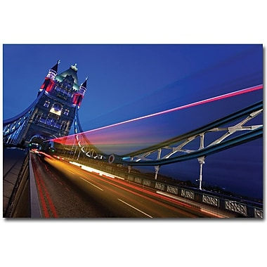 Trademark Global Nina Papiorek in.London, Big Ben IIin. Canvas Art, 30in. x 47in.