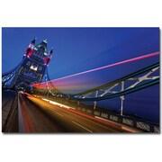 "Trademark Global Nina Papiorek ""London, Big Ben II"" Canvas Art, 30"" x 47"""