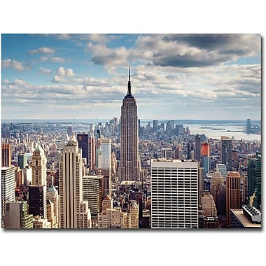 Trademark Global Nina Papiorek in.Empire Viewin. Canvas Art, 24in. x 32in.