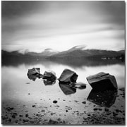 "Trademark Global Nina Papiorek ""Scotland, Loch Lomond"" Canvas Art, 24"" x 24"""