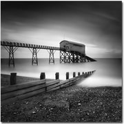 "Trademark Global Nina Papiorek ""Selsey, Lifeboat Station"" Canvas Art, 35"" x 35"""