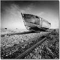 Trademark Global Nina Papiorek in.Ship Wreckin. Canvas Art, 24in. x 24in.