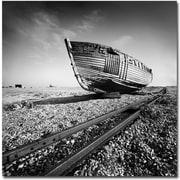 "Trademark Global Nina Papiorek ""Ship Wreck"" Canvas Art, 24"" x 24"""