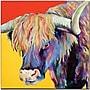 Trademark Global Pat Saunders White Scotty Canvas Art,