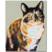 Trademark Global Pat Saunders White Maggie Mae Canvas Art, 26 x 32