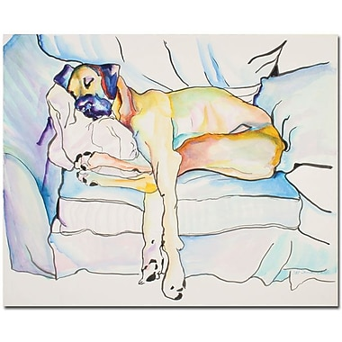 Trademark Global Pat Saunders White in.Sleeping Beautyin. Canvas Art, 18in. x 24in.