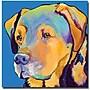 Trademark Global Pat Saunders White Gunner Canvas Art,