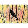 Trademark Global Patty Tuggle in.Blackbird Dreams Iin. Canvas Art, 16in. x 24in.