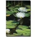 Trademark Global Patty Tuggle in.Lovely Liliesin. Canvas Art, 24in. x 16in.