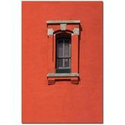 "Trademark Global Patty Tuggle ""Light House Window"" Canvas Art, 19"" x 14"""