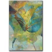 "Trademark Global Rickey Lewis ""Butterflight"" Canvas Art, 24"" x 16"""
